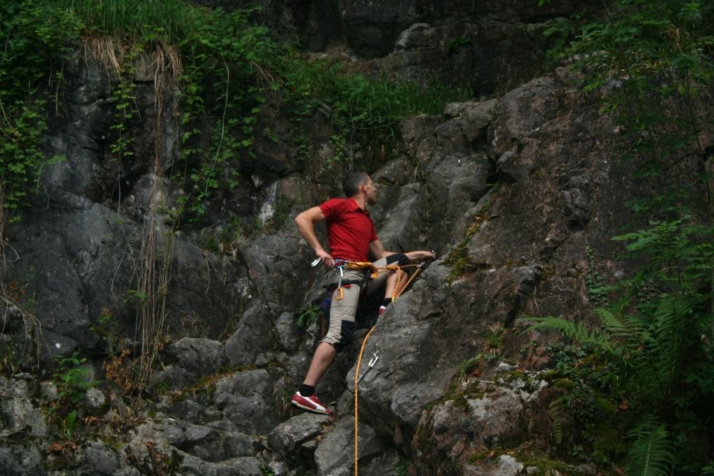 Kletterausrüstung T5 : Klettern ich bin tom